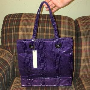 BRAND NEW KATE LANDRY BEAUTIFUL PURPLE TOTE BAG😍